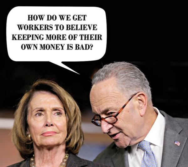 Pelosi and Schumer tax cuts