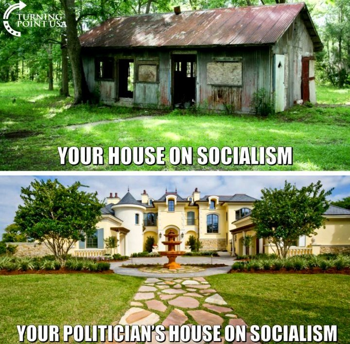 Your house on socialism