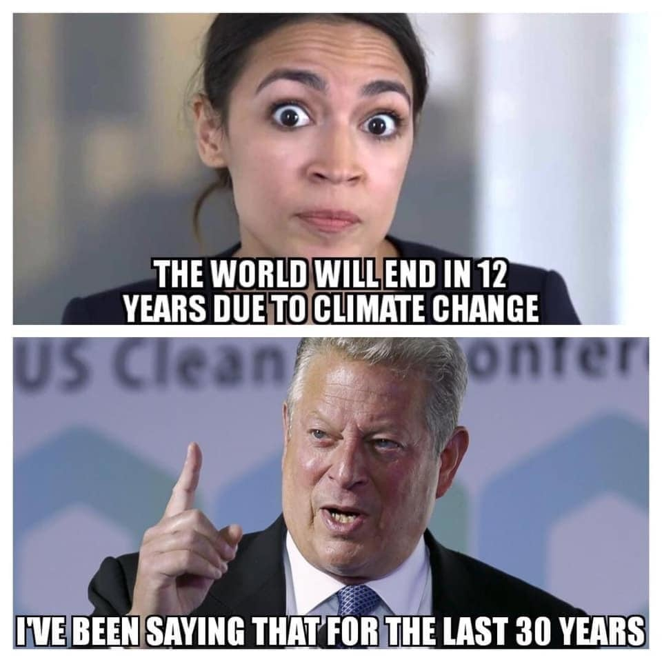 AOC and Al Gore