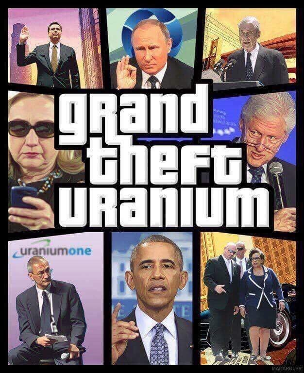 Grand Theft Uranium