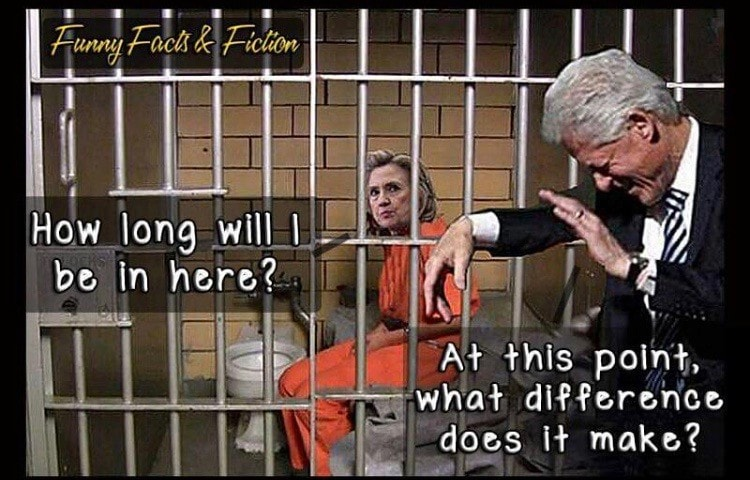 Hillary in jail...