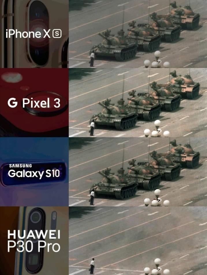 Huawei On Tiananmen Meme