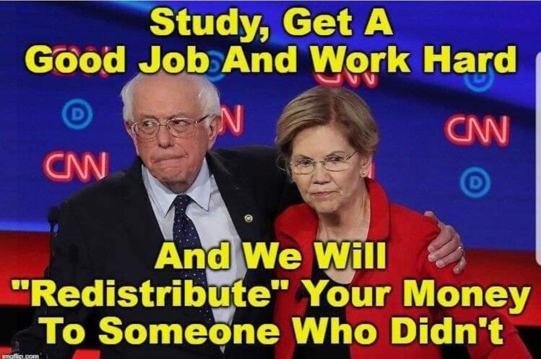 Sanders and Warren