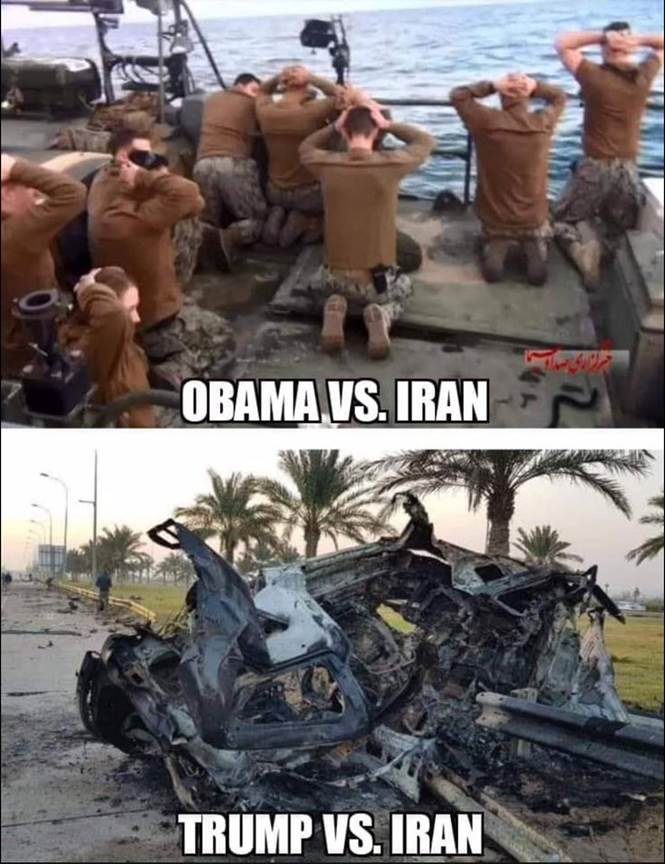 Obama vs Iran, Trump vs Iran