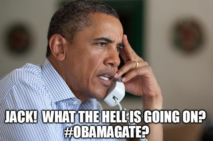 Hussein upset about obamagate