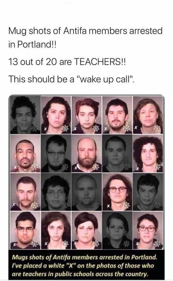 AntiFa teachers