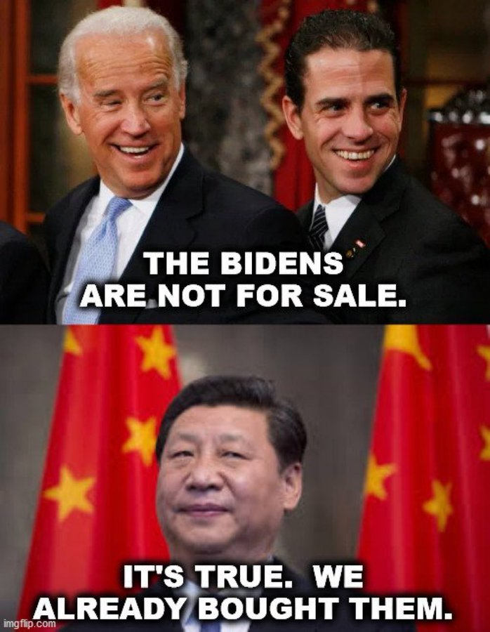 The Bidens and China
