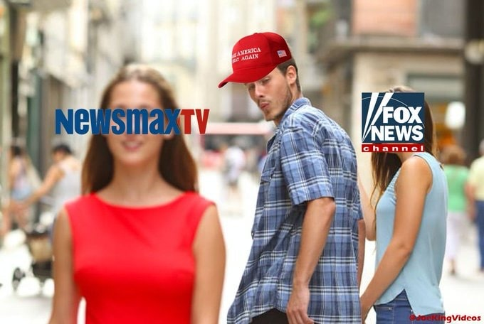 MAGA NewsmaxTV and Fox News