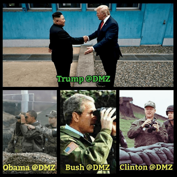 Presidents at the DMZ