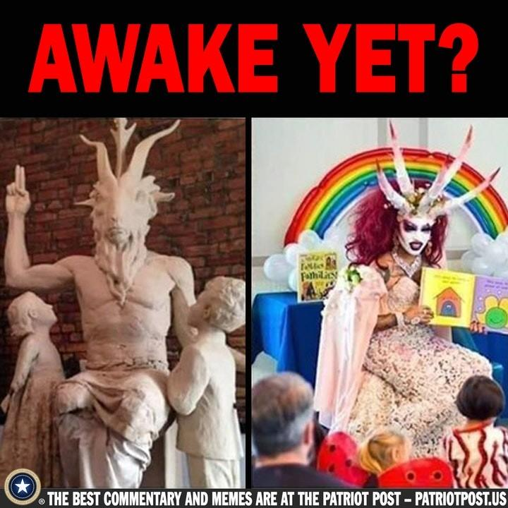 Satan and Democrats with kids