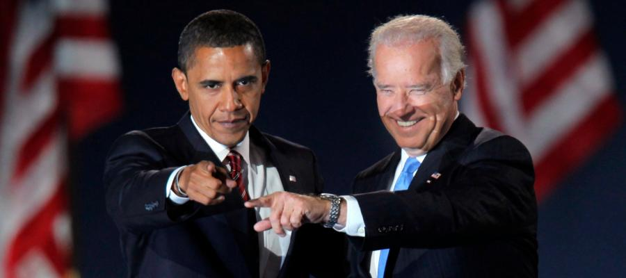 Biden and Hussein