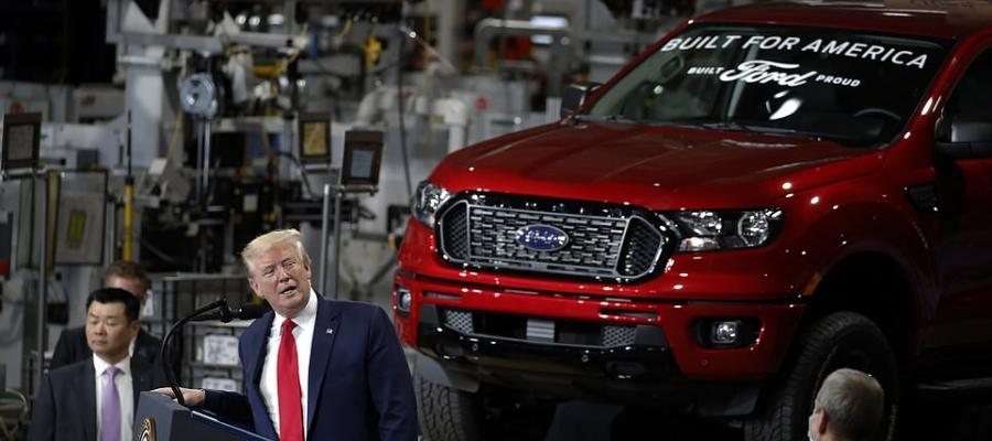 President Trump at Ford